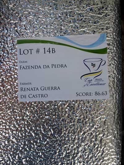 コーヒー生豆 coe2014